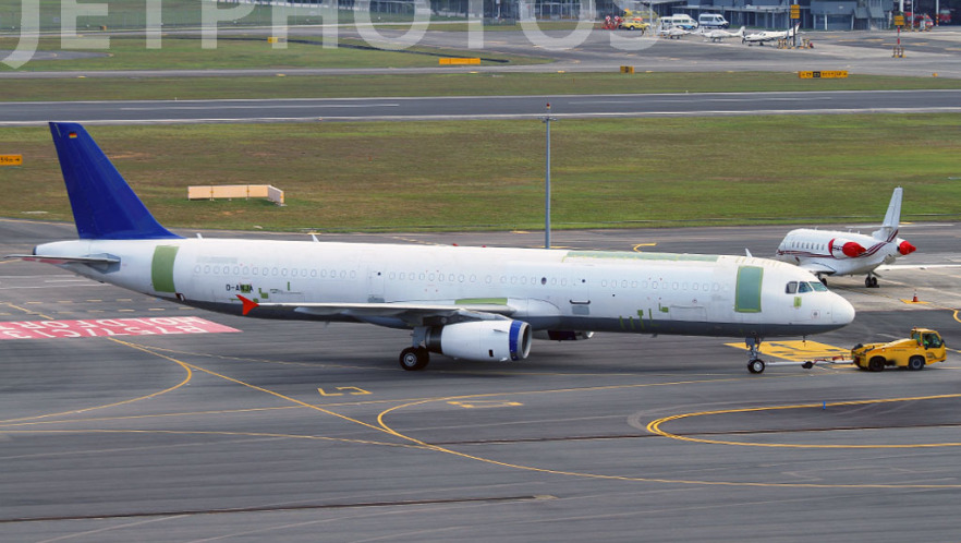 D-ANJA - Airbus A321-231P2F - Untitled