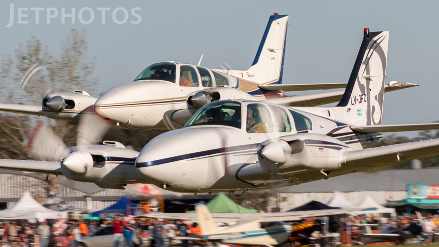 LV-JFO - Beechcraft 95-D55 Baron - Private
