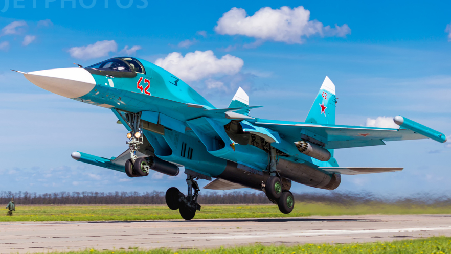 RF-95857 - Sukhoi Su-34 Fullback - Russia - Air Force